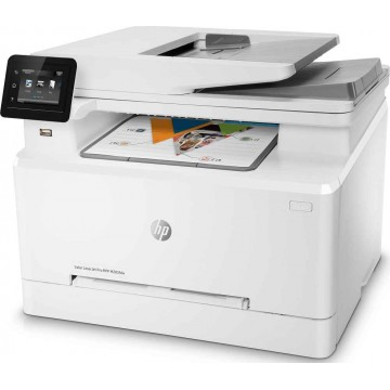 HP 4-in-1 Color LaserJet Pro MFP M283fdw Printer - Ready Stocks!
