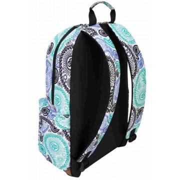 """Targus Strata Cashew-Pattern Laptop Backpack 15.6"""""""