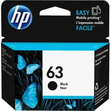 HP Ink Cartridge (63) Black