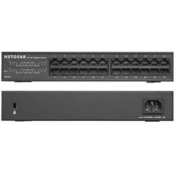 NETGEAR 24-Port Gigabit Ethernet Unmanaged Switch GS324