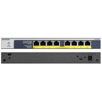NETGEAR 8-Port PoE/PoE+ Gigabit Ethernet Unmanaged Flexible Switch GS108PP