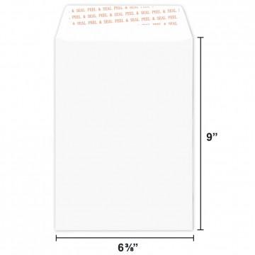 White Envelope C5 (162 x 229mm) Peel & Seal 10'S