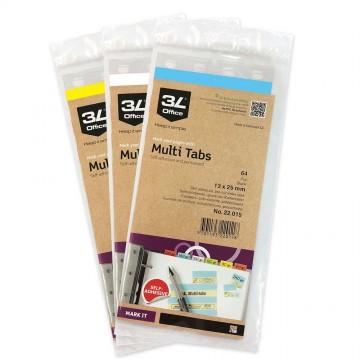 3L Multi Tabs (13 x 25mm) Colour