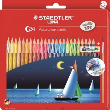 Staedtler Luna Watercolour Pencils 24'S