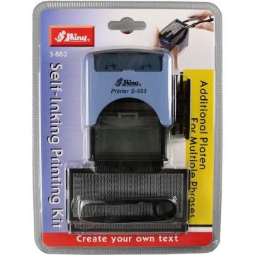 Shiny S-883 DIY Self-Inking Printing Kit (47 x 18mm)