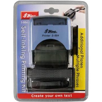 Shiny S-884 DIY Self-Inking Printing Kit (58 x 22mm)