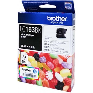 Brother Ink Cartridge (LC163) Black