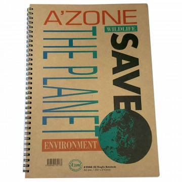 Azone Save The Planet Ring Notebook A4