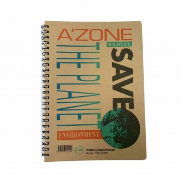Azone Save The Planet Ring Notebook A5