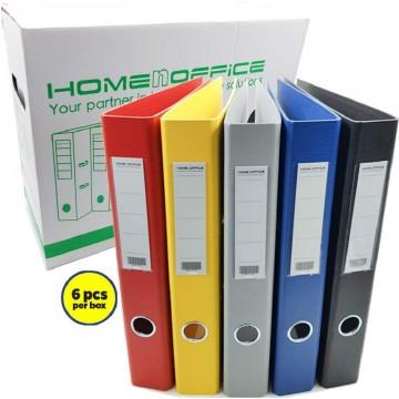 """HnO Lever Arch File PVC 2"""" A4 6'S"""
