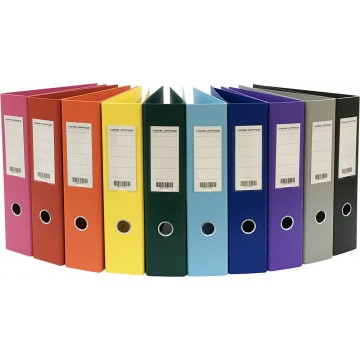 """HnO Lever Arch File PVC (24 Files) 3"""" A4"""
