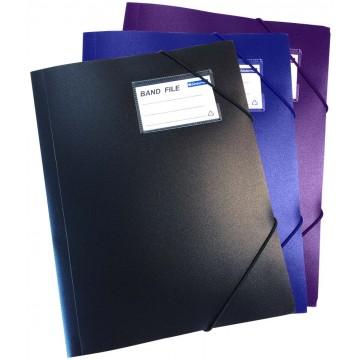 Bindermax Band File w/Front Name Card Pocket