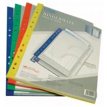 Bindermax Bindermate 11-Hole Display Book (20 Pocket) A4