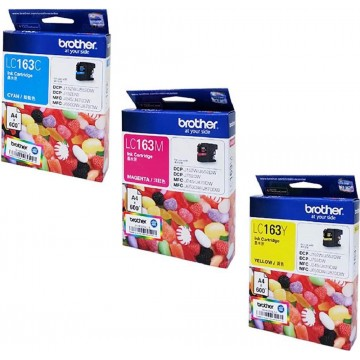 Brother Ink Cartridge (LC163) Colour