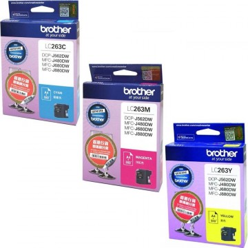 Brother Ink Cartridge (LC263) Colour