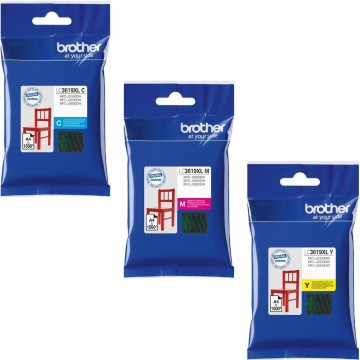 Brother Ink Cartridge (LC3619XL) Colour