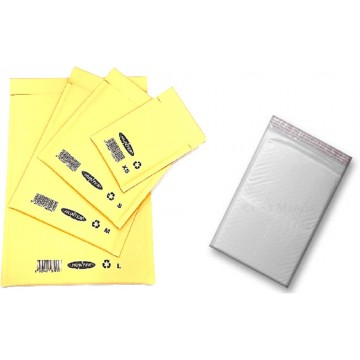 Goldkraft Bubble Padded Envelope (120 x 215mm) Peel & Seal