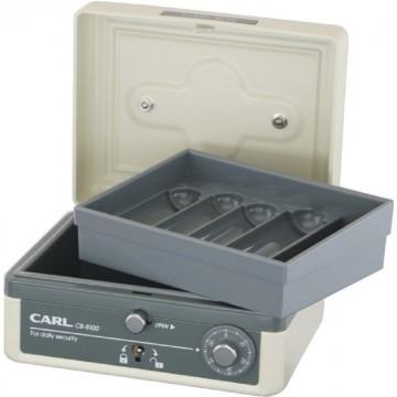 "Carl Cash Box (129 x 152 x 83mm) CB-8100 6"""