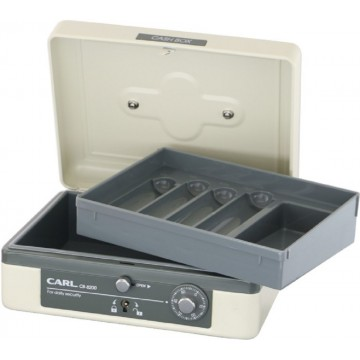 "Carl Cash Box (155 x 195 x 86mm) CB-8200 7.7"""