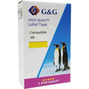 G&G Compatible Casio EZ-Label Printer Tape Cartridge 12mm