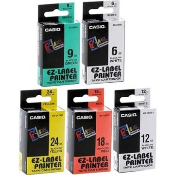 Casio EZ-Label Printer Tape Cartridge 12mm