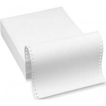 """Computer Form Paper 3-Ply NCR (9.5"""" x 11"""") 800'S White"""