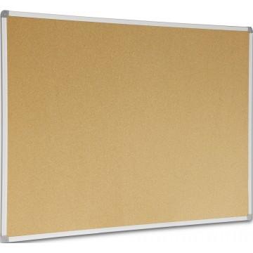 Cork Noticeboard (90 x 120cm) Aluminium Frame