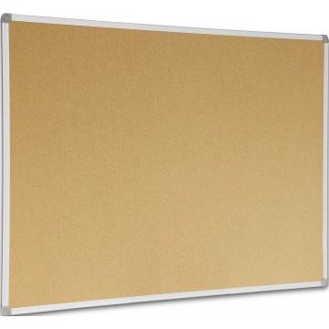 Cork Noticeboard (90 x 150cm) Aluminium Frame - With Installation