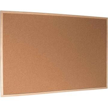 Cork Noticeboard (120 x 150cm) Wooden Frame