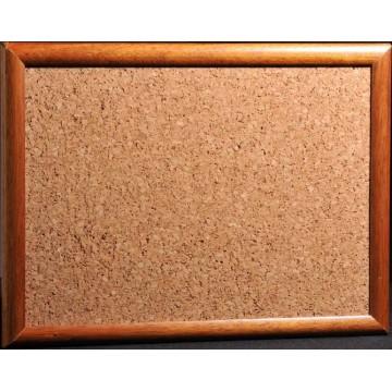 Cork Noticeboard (90 x 180cm) Wooden Frame - With Installation