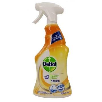 Dettol Antibacterial Healthy Clean Kitchen Trigger Spray 500ml