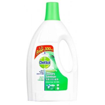 Dettol Fresh Pine Disinfectant Laundry Sanitiser 1.2L + 300ml