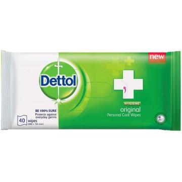 Dettol Antibacterial Wet Wipes 40'S