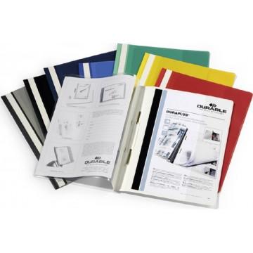Durable Duraplus Quotation Folder w/Front Pocket 2579 A4