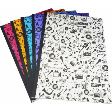 ESPP Lecture Pad w/PP Cover A4