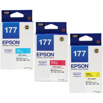 Epson Ink Cartridge (177) Colour