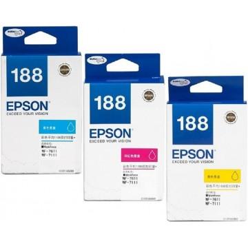 Epson Ink Cartridge (188) Colour