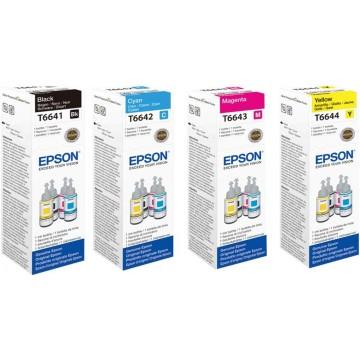 Epson Ink Bottle (T6641, T6642, T6643, T6644)