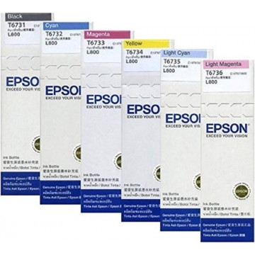 Epson Ink Bottle (T6731, T6732, T6733, T6734, T6735, T6736)