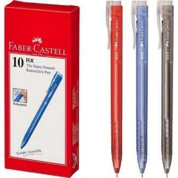 Faber-Castell RX5 Ballpoint Pen 0.5mm Retractable 10'S