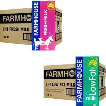 Farmhouse UHT Milk 12'S 1L