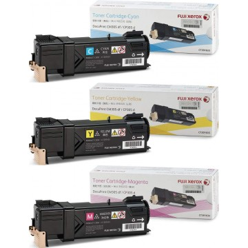 Fuji Xerox Toner Cartridge (CT201633, CT201634, CT201635) Colour