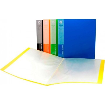 Office Clear Book File (20 Pocket) A4