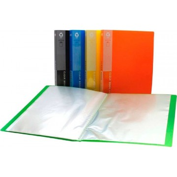 Office Clear Book File (40 Pocket) A4