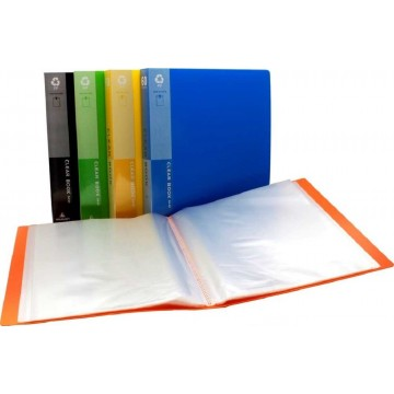 Office Clear Book File (60 Pocket) A4