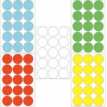 Herma Colour Round Labels 480'S 32mm
