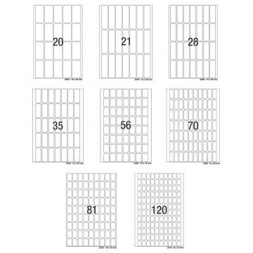 Herma Multi-Purpose White Labels 32'S (20-120)