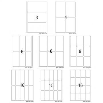 Herma Multi-Purpose White Labels 32'S (3-16)
