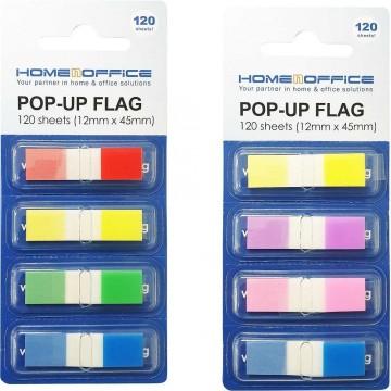 "HnO Pop-Up Flags (0.5"" x 1.7"") 4-Colour"