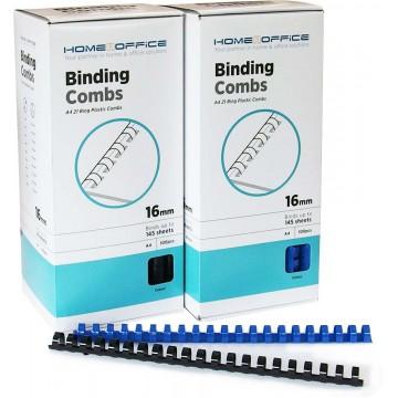 HnO Plastic Binding Ring A4 100'S 16mm